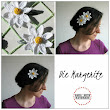 Sara Arts - handmade: Hairclips Collection: die Margerite