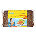 Mestemacher Bread Bread - Sunflower Seed - 17.6 Oz - Case Of 12