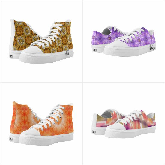 Custom ZIPZ shoes at the katzdzynes Zazzle shop