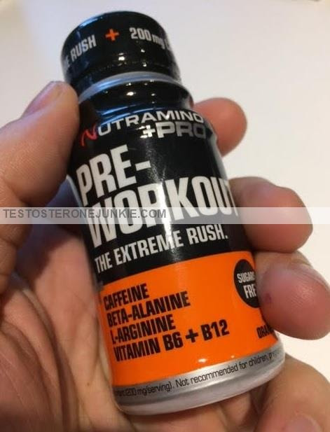 My Nutramino +Pro Pre Workout Review - TESTOSTERONE JUNKIE - Supplements, muscle, nutrition