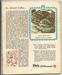 König Bilderrezepte No2: Ein Schalerl Kaffee