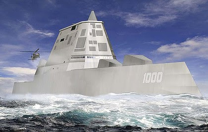 Costs billions ... the DDG-1000, the US Navy's next-generation destroyer.