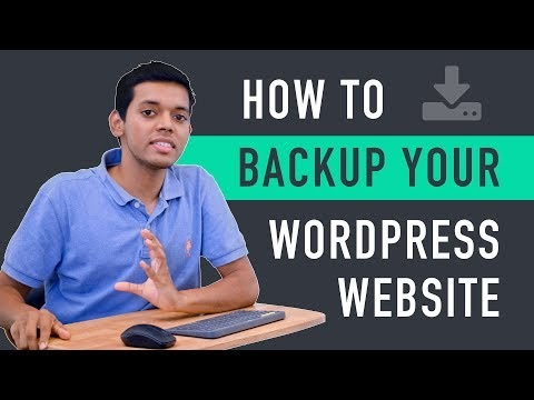 How to Backup Your WordPress Website