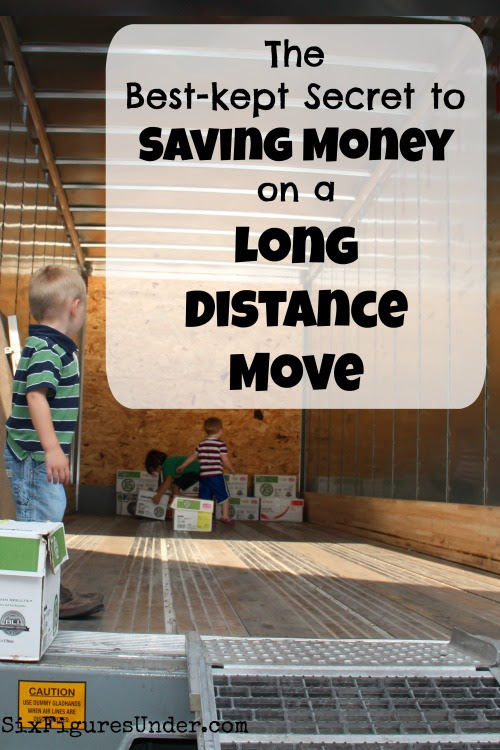 Saving money on a long distance move- Best option for moving out of state
