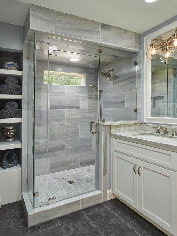 These 20 Tile Shower Ideas Will Have You Planning Your ...