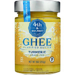 4th & Heart - Ghee - Turmeric Grass Fed - Case Of 6 - 9 Oz.