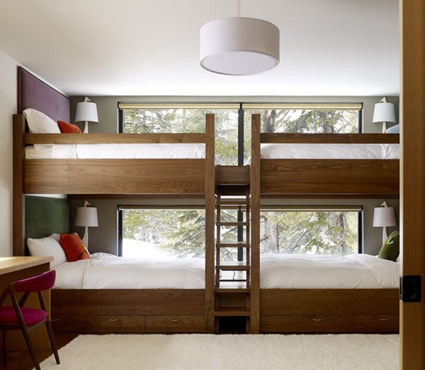 Four Kids One Room Bunk Beds - Decoholic