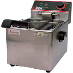 Winco EFS-16 Electric Countertop Single Well Deep Fryer 16 lb.
