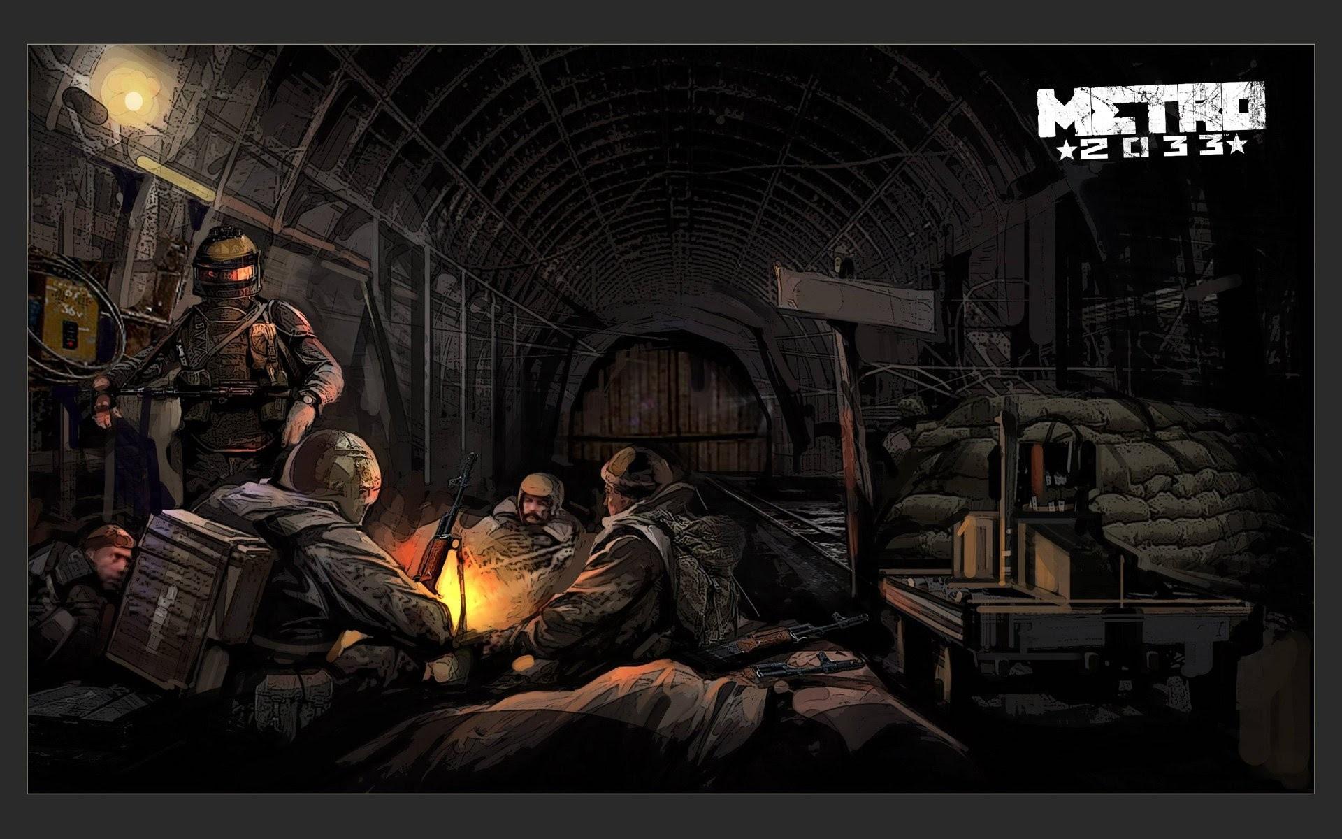 Metro 2033 Wallpaper Hd