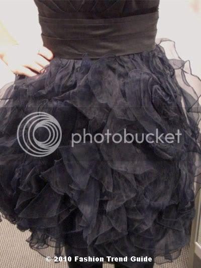 Zac Posen for Target black prom dress