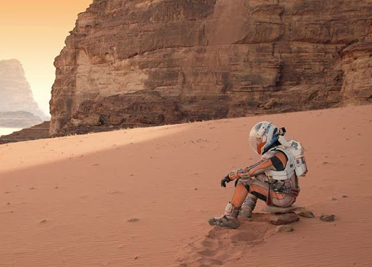 "Film Review: ""The Martian"" - SpaceRef"