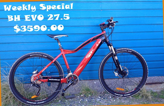 Weekly ebike Special at Perth Electric Bicycles - BH EVO $3590.00 - PERTH ELECTRIC BICYCLES
