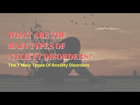 What Are The Main Types Of Anxiety Disorders