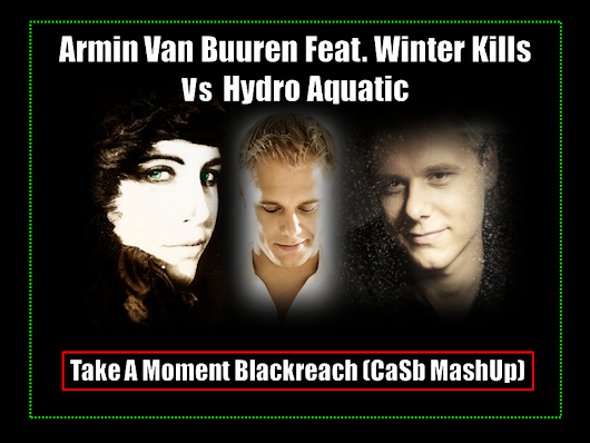 Armin Van Buuren, Winter Kills Vs Hydro Aquatic - Take A Moment Blackreach (CaSb MashUp)