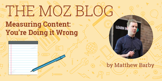 Measuring Content: You're Doing it Wrong
