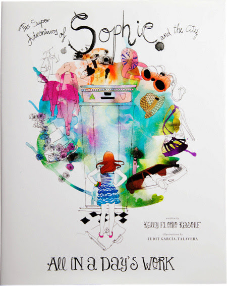 The Super Adventures of Sophie and the City book cover