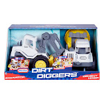 Little Tikes Dirt Diggers 2-in-1 Excavator and Cement Mixer