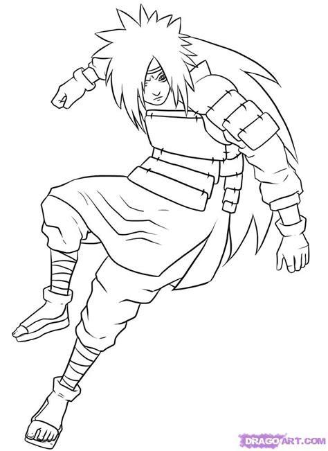 draw madara step  step naruto characters anime