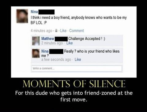 Friendzone At The First Move
