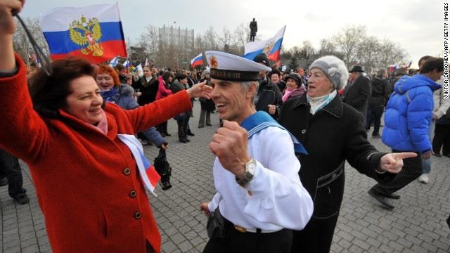 Crưm, Nga, Mỹ, châu Âu, Ukraina