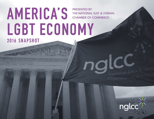"First Ever ""America's LGBT Economy"" Report Suggests LGBT Businesses Add $1.7 Trillion to US Economy"