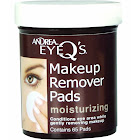 Andrea Eye Q's Makeup Remover Pads, Moisturizing - 65 pads
