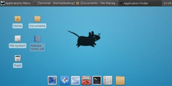 Novo Debian deverá usar o XFCE como Ambiente gráfico