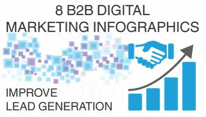 8 B2B Digital Marketing Infographics On Lead Generation