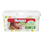 Huggies Natural Care Improved Wipes, Fragrance Free (Box of 64 each)
