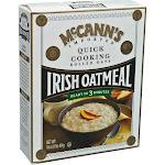 McCann's Irish Oatmeal Rolled Oats, Quick Cooking - 16 oz box
