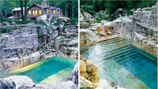 An Old Limestone Quarry Is Transformed From A Pile Of Rubble Into A Gorgeous Pool. - Faithreel.com
