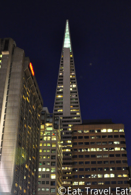 TransAmerica Pyramid @ Night- San Francisco, CA
