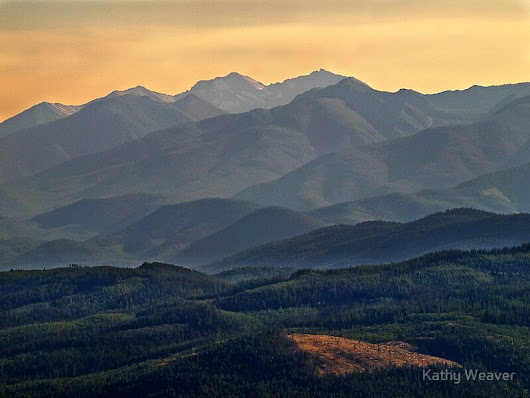 """Evening In the Rockies -  Montana"" by Kathy Weaver 