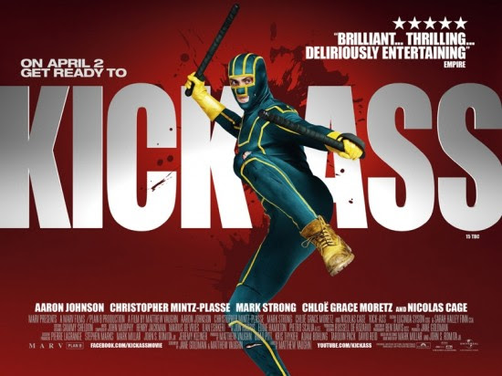 film poster for Kick Ass.