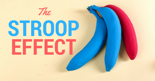 Words, Colours and the Stroop Effect – There And Back To See How Far It Is