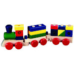 Mellisa n Doug 572 3 1/2W x 5 1/2L x 18 1/5H Stacking Train