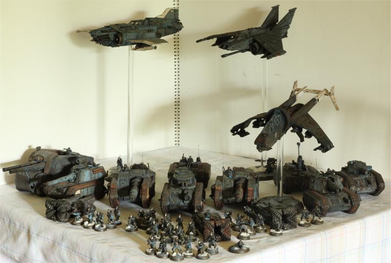 Death Korps of Krieg, Forge World, Imperial Guard, Lightning, Thunderbolt, Valkyrie