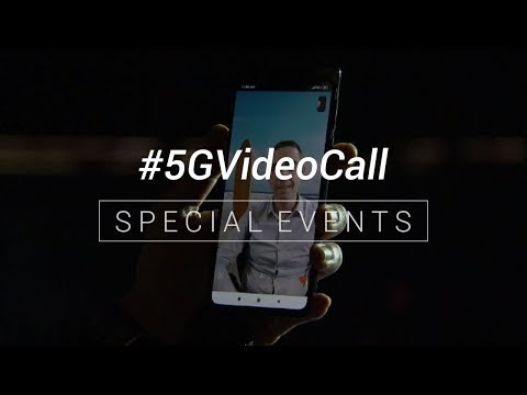 5G video calls from Dubai
