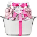 Freida and Joe - Pink Orchid Strawberry Spa Bath Gift Set in a Tub