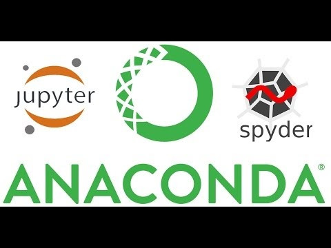 Data Science: Python - Install Anaconda, Jupyter Notebook