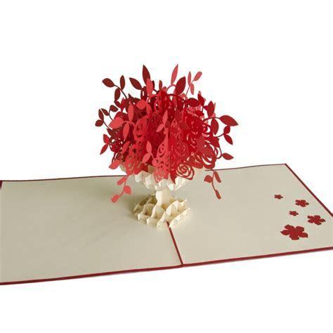 Flower Vase pop up card  3D card Vietnam custom cards