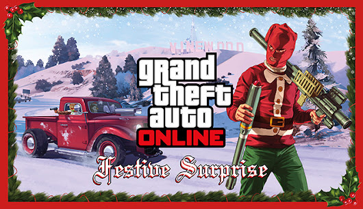 The GTA Place - GTA Online Festive Surprise