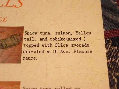 Flavore sauce