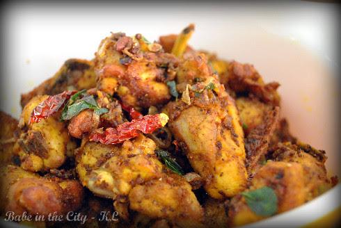 New Style Chicken Varuval