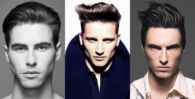 gaya rambut lelaki untuk dahi luas
