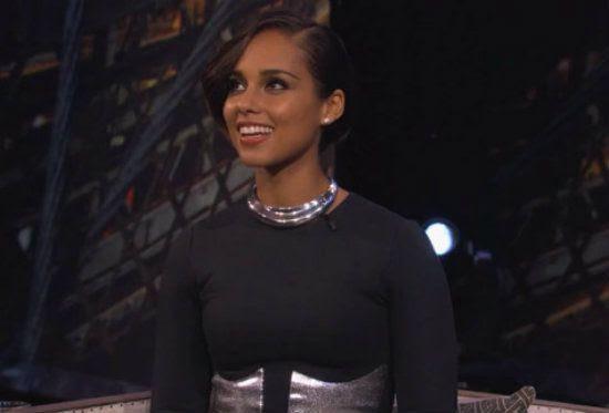 Jimmy Kimmel (November 2012), Alicia Keys