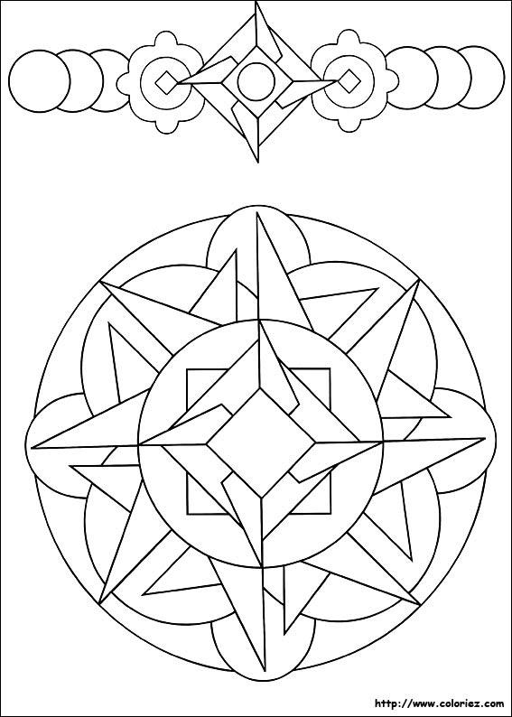 Coloriage Formes Géométriques Imprimer Laurent Falguiere