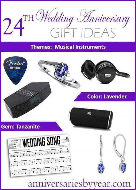 Twentyfourth Anniversary   24th Wedding Anniversary Gift Ideas