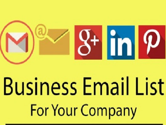 1000 collect business email list for $49