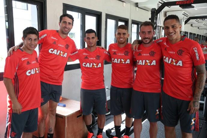 Reapresentação Flamengo (Foto: Gilvan de Souza/Divulgação Flamengo)